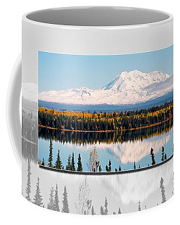 Coffee Mug featuring the photograph Mt. Drum - Alaska by Juergen Weiss