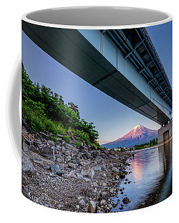 Mt Fuji - Under The Bridge Coffee Mug
