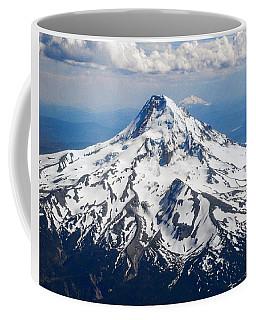 Mt. Hood From 10,000 Feet Coffee Mug