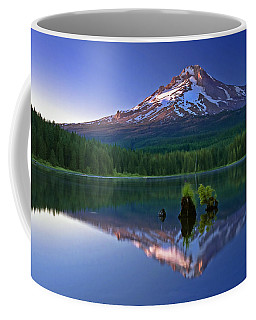 Mt. Hood Reflection At Sunset Coffee Mug