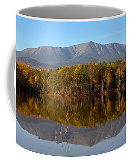 Mt Katahdin Baxter State Park Fall 1 Coffee Mug