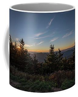 Mt Mitchell Sunset North Carolina 2016 Coffee Mug by Terry DeLuco