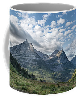 Coffee Mug featuring the photograph Mt. Oberlin From Logan Pass by Jemmy Archer