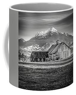 Mt Pilchuck Coffee Mug by Tony Locke