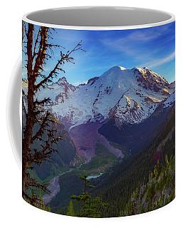 Mt Rainier At Emmons Glacier Coffee Mug