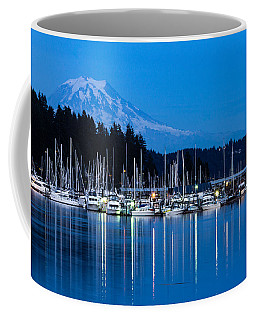 Mt. Rainier From Gig Harbor Coffee Mug