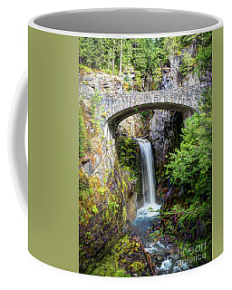 Mt Rainier National Park, Christine Falls Coffee Mug