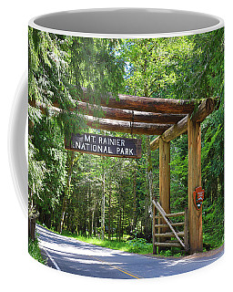 Mt. Rainier National Park Coffee Mug