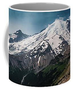 Mt. Rainier Panoramic Coffee Mug