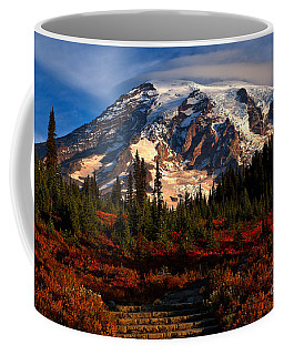 Mt. Rainier Paradise Morning Coffee Mug