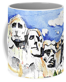 Mt. Rushmore, Usa Coffee Mug