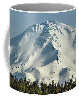 Mt Shasta In Early Morning Light Coffee Mug by Marc Crumpler