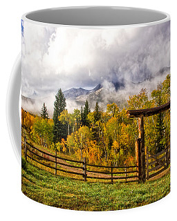 Mt Sopris Under The Clouds Coffee Mug