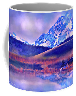 Mt. Stuart Coffee Mug