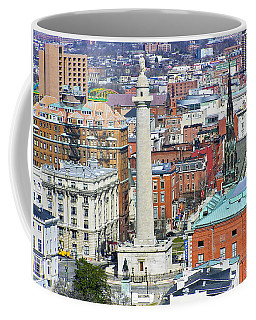 Mt Vernon - Baltimore Coffee Mug by Brian Wallace