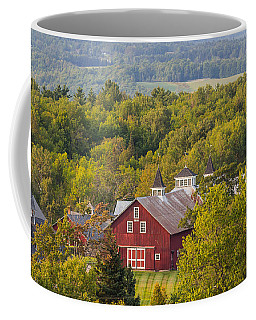 Mt View Farm In Summer Coffee Mug
