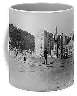 Coffee Mug featuring the photograph Mt. Washington Church  by Cole Thompson