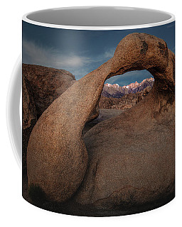 Mt. Whitney Through Mobius Arch Coffee Mug