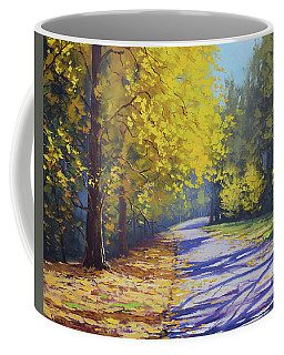Mt Wilson Gold Coffee Mug