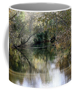Coffee Mug featuring the photograph Muckalee Creek by Jerry Battle