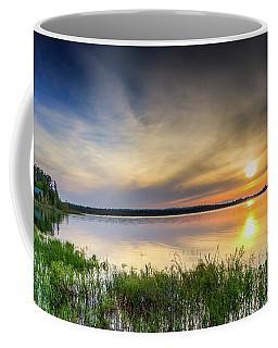 Mud Bay Sunset 1 Coffee Mug