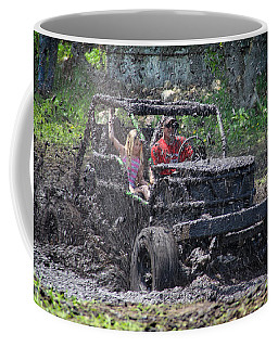 Coffee Mug featuring the photograph Mud Bogging by Mary Lee Dereske