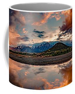 Muddy Puddle Skyfire Reflections Coffee Mug