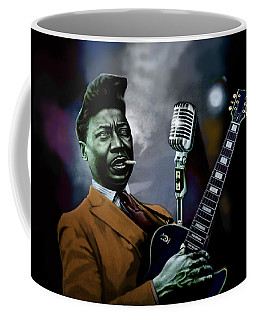 Muddy Waters - Mick Jagger's Grandfather Coffee Mug