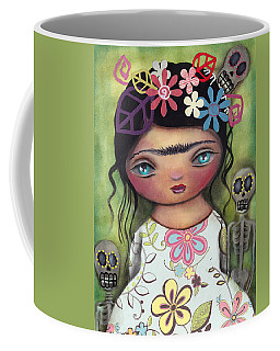 Muertos Fest Coffee Mug by Abril Andrade Griffith