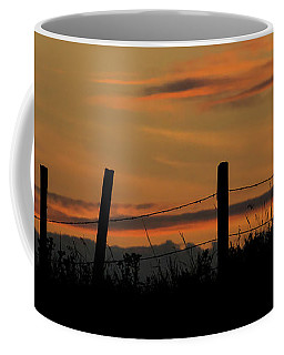 Coffee Mug featuring the photograph Mug - Prairie Sunset by Inge Riis McDonald