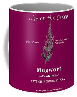 Mugwort - White Text Coffee Mug