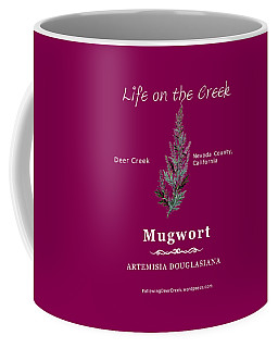 Mugwort - White Text Coffee Mug