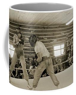Muhammad Ali And Ernie Jones Spar Coffee Mug