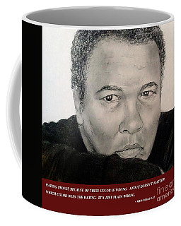 Muhammad Ali On Hating  Coffee Mug