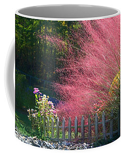 Coffee Mug featuring the photograph Muhly Grass by Kathryn Meyer
