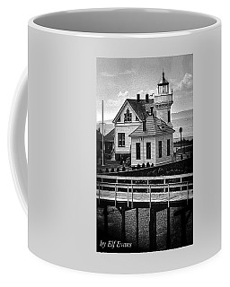 Coffee Mug featuring the photograph Mukilteo Lighthouse by Elf Evans