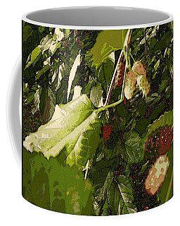 Mulberry Moment Coffee Mug by Winsome Gunning