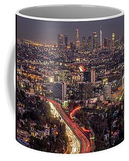 Mulholland Drive View #2 Coffee Mug