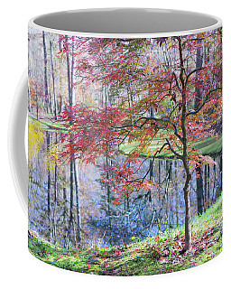 Multi Color Japanese Maple Coffee Mug