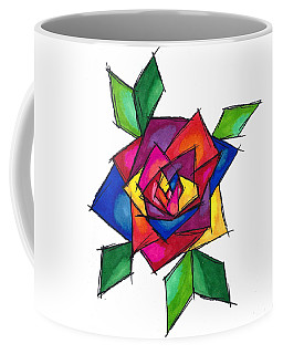 Multi Rose Coffee Mug