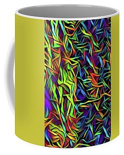 Multi Waves Coffee Mug by Gayle Price Thomas