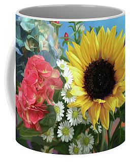 Multicolor Flowers Coffee Mug