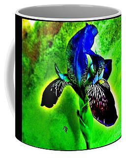 Coffee Mug featuring the photograph Multicolor Iris by Marsha Heiken