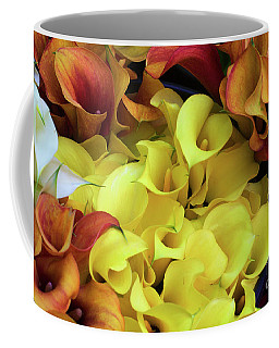 Multicolored Calla Lillies Coffee Mug