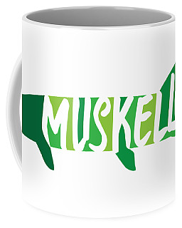 Multicolored Muskellunge Coffee Mug