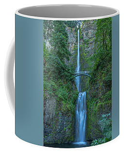 Multnomah Falls Coffee Mug by Brenda Jacobs