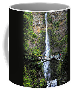 Multnomah Falls, Columbia River Gorge Coffee Mug by Greg Sigrist