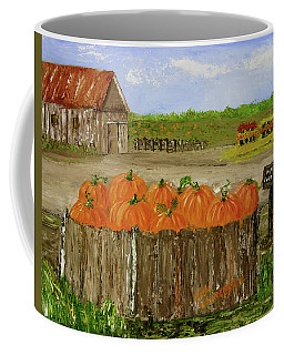 Mum And Pumpkin Harvest Coffee Mug