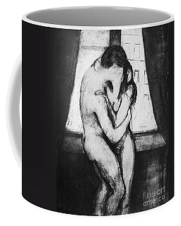 Munch The Kiss, 1895 - To License For Professional Use Visit Granger.com Coffee Mug