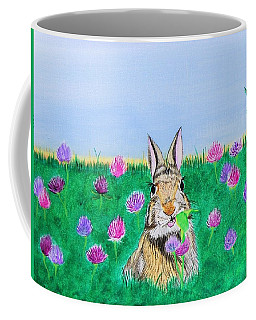 Munching Bunny Coffee Mug